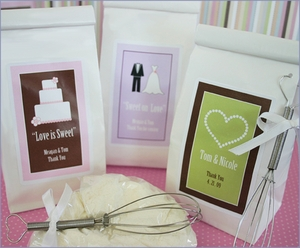 Personalized Love is Sweet Sugar Cookie Mix Wedding Favors