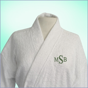 Personalized Luxury Spa Robe
