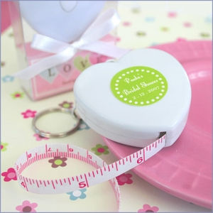 Personalized Measure Up Some Love Heart Tape Measure Favors