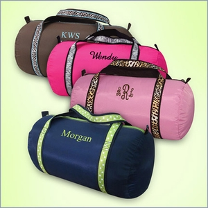 Personalized Medium Duffel Bag