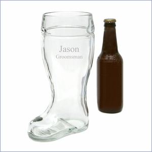 Personalized One Liter Beer Boot