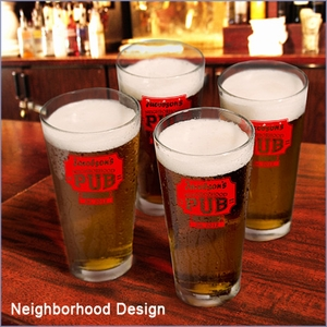 Personalized Pub Glass Set (Set of 4)