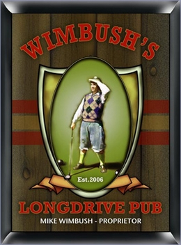 Personalized Pub Sign - Golf Theme