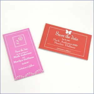 Personalized Save-the-Date Wedding Magnets