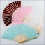 Personalized Silk Fan Wedding Favors