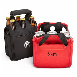 Personalized Six Pack Beer Carrier