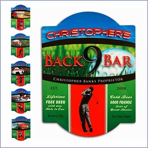 Personalized Sport Bar Sign