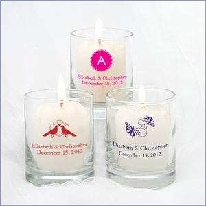 Personalized Votive Holder