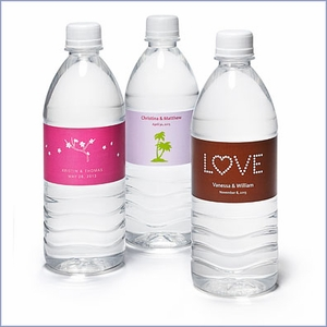Personalized Water Bottle Labels (Pack of 24)