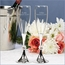 Personalized Wedding Crystal Bead Toasting Flutes