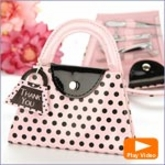 Pink Purse Manicure Set