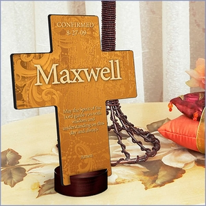 Prayer Verse in Personalized Prayer Cross
