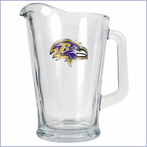 Primary NFL Logo 60oz Glass Pitcher
