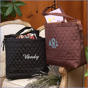 Renee Personalized Quilted Bag