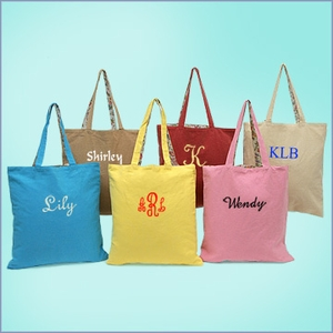 Reversible Canvas Tote Bags