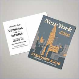 Save The Date Postcards - New York (Set of 100)