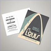 Save The Date Postcards - St. Louis (Set of 100)