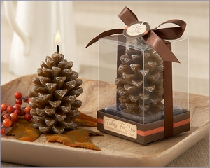 Scented Pine Cone Candle (Set of 4)