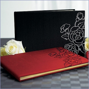 Silhouettes in Bloom Guest Book