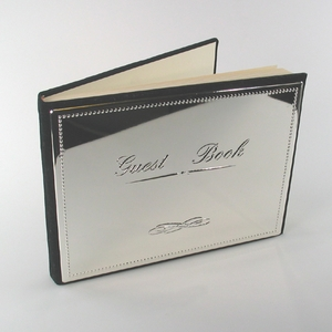 Silver Guest Book