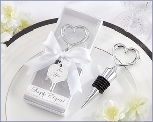 Simply Elegant Heart Bottle Stopper