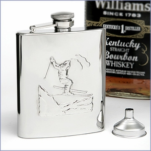 Stainless Skier Flask