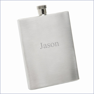 Stainless Slim-Cut Flask