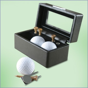 Tee's and Divot Tool Golf Gift Set