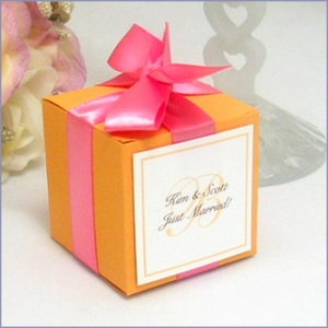 The Classic Cube Favor Box Kit - Set of 20