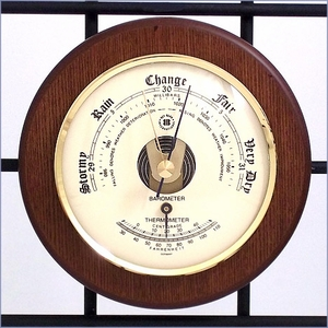 Thermometer and Barometer
