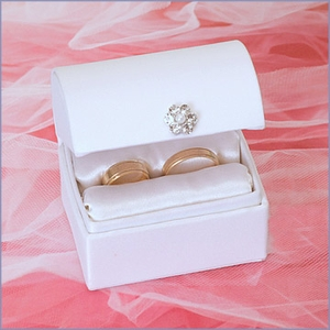 Treasure Chest Wedding Ring Box
