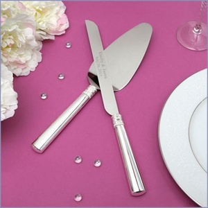 Vera Wang With Love Wedding Cake Knife & Server Set