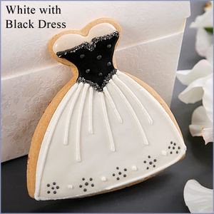 Vintage Wedding Dress Cookie
