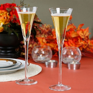 Wedding Glasses Set - Long Stemmed