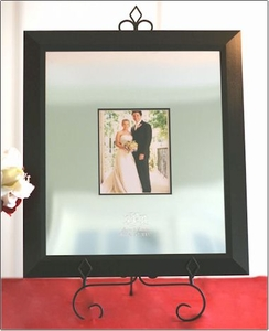 Wedding Memories Engravable Signature Mat & Frame with Scribe Pen