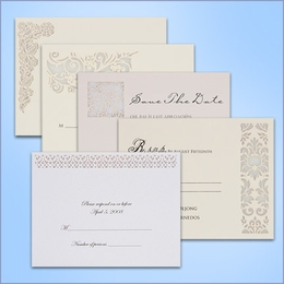 Wedding Response Cards (Pack of 10)