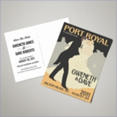 Wedding Save The Date Postcards - Down The Aisle (Set of 100)