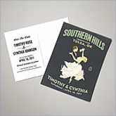Wedding Save The Date Postcards - First Dance (Set of 100)
