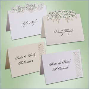 Wedding Table Place Cards (Pack of 10)