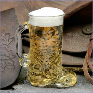 Western Boot Shaped Glasses