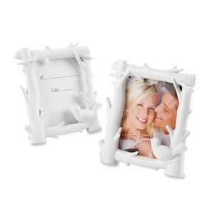 White Woods Forest Themed Photo Frame