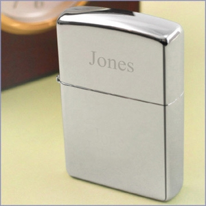 Zippo Chrome-Finished Lighter