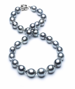 10mm-12mm-tahitian-pearl-necklace-baroque-south-sea-aa-16inch-s3-cliabc-Grey Color-b20