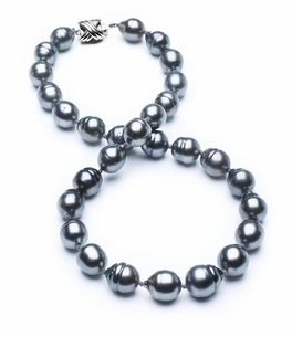 10mm-12mm-tahitian-pearl-necklace-baroque-south-sea-true-aaa-16inch-s3-cliabc-Dark Black-b9