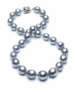 10mm-12mm-tahitian-pearl-necklace-baroque-south-sea-true-aaa-16inch-s3-cliabc-Grey Color-b23