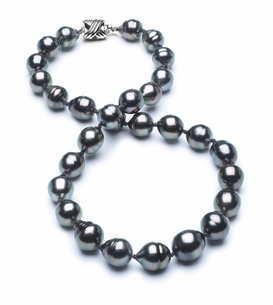 10mm-12mm-tahitian-pearl-necklace-baroque-south-sea-true-aaa-16inch-s3-cliabc-Peacock Color-b29