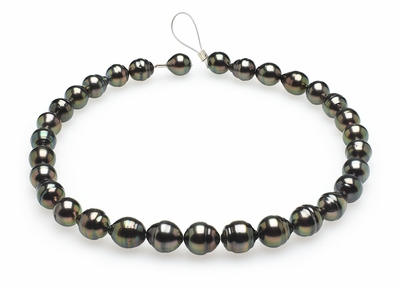 10mm-12mm-tahitian-pearl-necklace-baroque-south-sea-true-aaa-16inch-s5-clabc28-peacock-color-b266