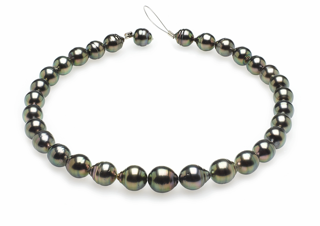 10mm-12mm-tahitian-pearl-necklace-baroque-south-sea-true-aaa-16inch-s5-clabc29-peacock-color-b268