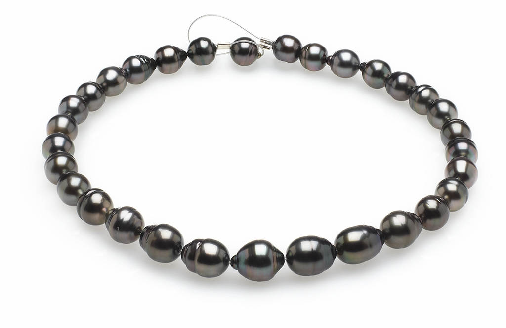 10mm x 12mm Tahitian Baroque Cultured Pearl Necklace