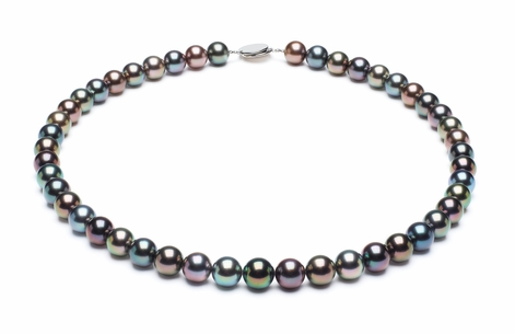 Tahitian Pearl Necklace Serial Number   10mmto11-7mm-tahitian-south-sea-multi-color-pearl-necklace-aaa-16inch-s5-xr07739m-b117
